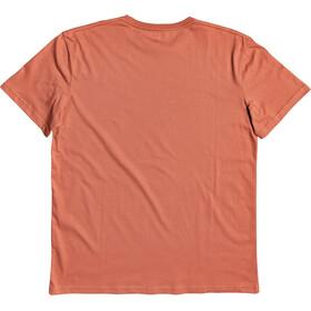 Quiksilver Comp Logo T-shirt Heren, oranje